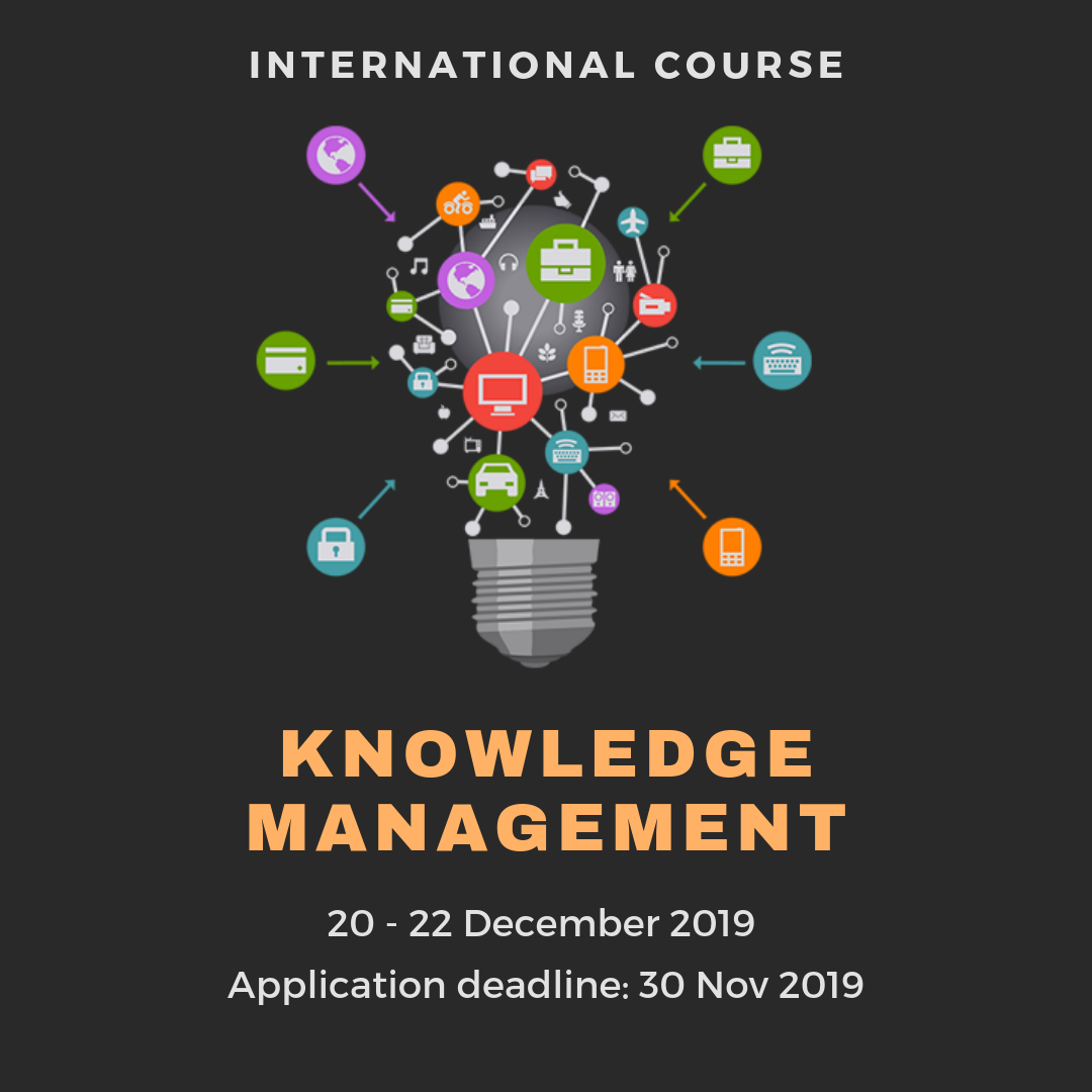 3-Day International Course on Knowledge Management Course