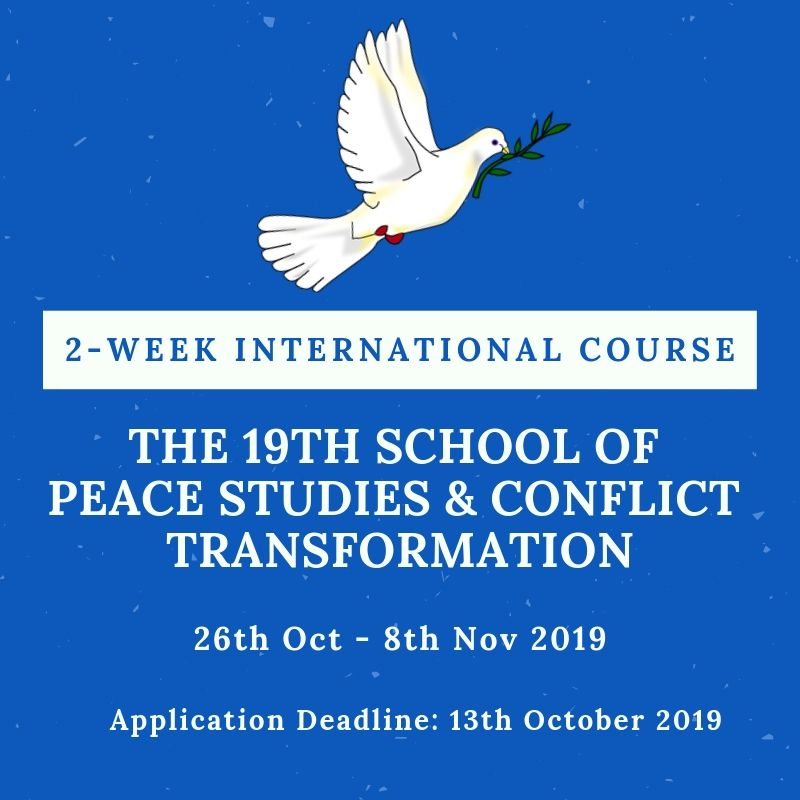 The 19th School of Peace Studies and Conflict Transformation