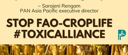 Sarojeni Rengam, PAN Asia Pacific, Executive Director, sarojeni.rengam@panap.net