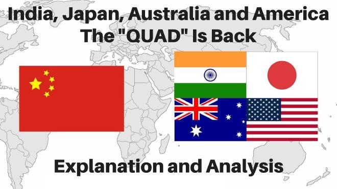 กลุ่มภาคี The Quad กับการปิดล้อมจีนครั้งใหม่
