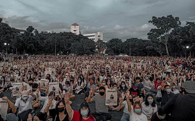 """Public Statement Drop charges against pro-democracy activists involved with demonstrations by Free Youth """"The state must respect and uphold the right to freedom of expression and unarmed and peaceful protest"""""""