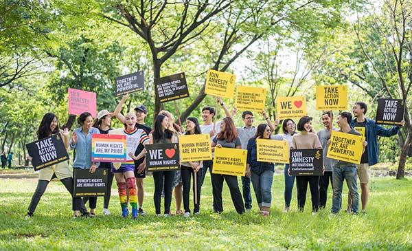 ก้าวสู่ปีที่ 60 แอมเนสตี้ยืนหยัดเคียงข้างผู้ถูกละเมิดสิทธิมนุษยชน