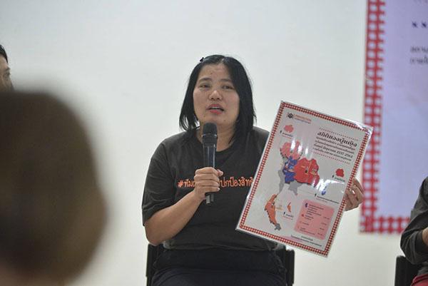 เครือข่ายผู้หญิงนักปกป้องสิทธิยื่นหนังสือเปิดผนึก 7 ข้อถึงคณะผู้จัดการประชุมสหประชาชาติผ่านอินเตอร์เน็ตพื่อจี้รัฐไทยยุติการคุกคามนักปกป้องสิทธิฯหลังพบถูกคุกคามอย่างต่อเนื่องเผยสถิติ ฟ้องผู้หญิงนักปกป้องสิทธิจากชุมชน 6 ปีอย่างน้อย 440